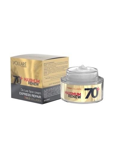 Vollare +70 Yaş Krem Kırışıklık Gidermeye ve Yaşlanma Belirtilerini Azaltmaya Yardımcı Yüz Kremi 50ml Renksiz